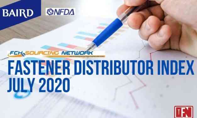 FASTENER DISTRIBUTOR INDEX (FDI) SURVEY | JULY 2020