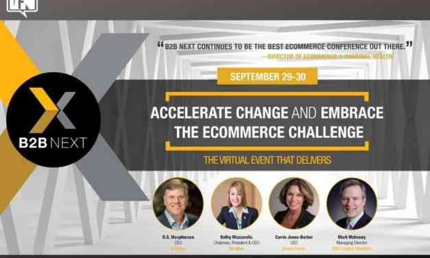 B2B Next 2020: Accelerate Change and Embrace the Ecommerce Challenge