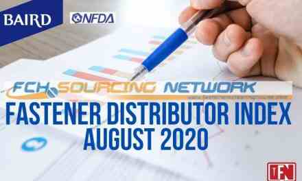 FASTENER DISTRIBUTOR INDEX (FDI) SURVEY | AUGUST 2020