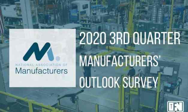 2020 3rd Quarter Manufacturers' Outlook Survey