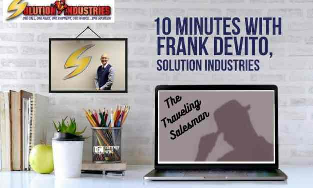 10 Minutes with Frank Devito, Solution Industries