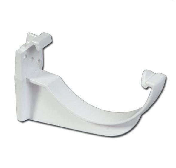 Half-Round Gutter Fascia Bracket (White) | Guttering | PVC Gutter | PVC Rainwater Goods | Faster Plastics