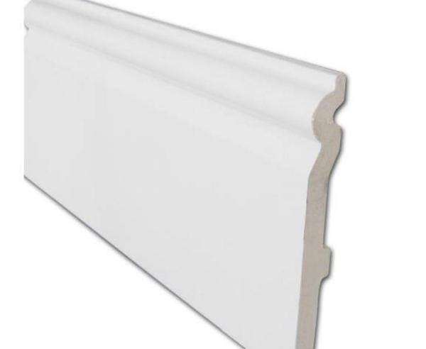 PVC Skirting Board 95mm (White) | PVC Trims and Soffits | Faster Plastics