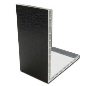 Rigid Angle (Black Ash) | PVC Trims and Soffits | Faster Plastics