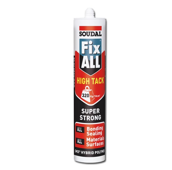 Soudal Fix ALL High Tack | Tools and accessories | Sealant | Cleaners | Installer Tools | Fixings | Faster Plastics