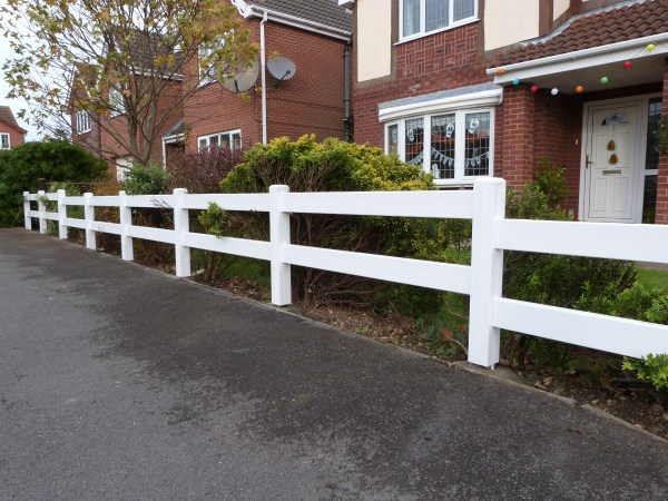 Ranch Style Fence   PVC Fencing   Plastic Fencing   Faster Plastics