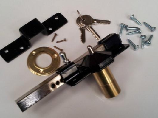 Side Gate Key Lock | PVC Gate | Gate Lock | Faster Plastics