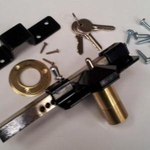 Side Gate Key Lock | PVC Gate | Gate Lock | Faster Plastics