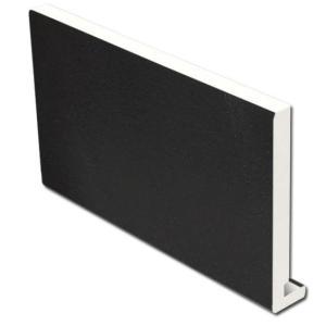 16mm Square Fascia (Black)   Faster Plastics