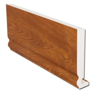 16mm Ogee Fascia (Light Oak) | Faster Plastics