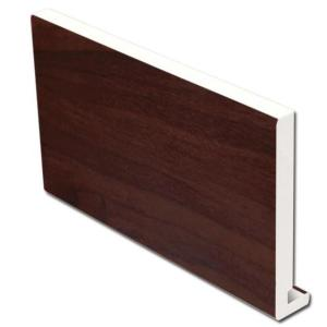 16mm Square Fascia (Rosewood) | Faster Plastics