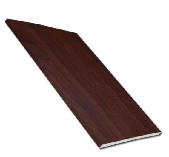 9mm Solid Soffit Board (Rosewood) | Faster Plastics