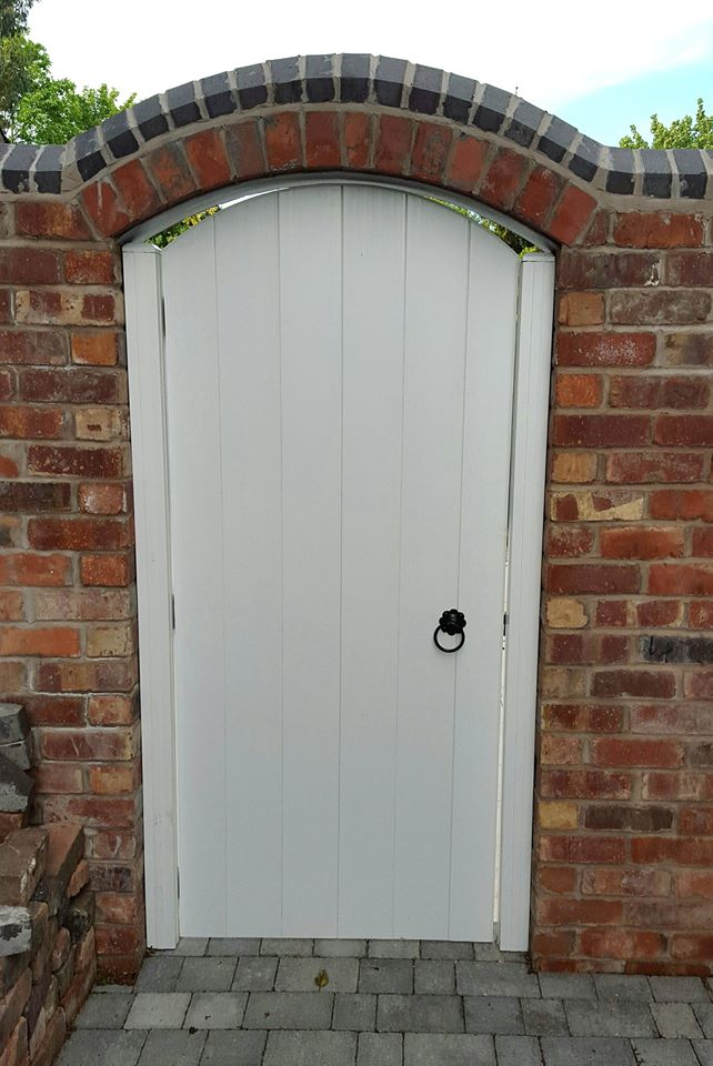 Pvc Gates Arch Top Gate Plastic Gates Pvc Gates And