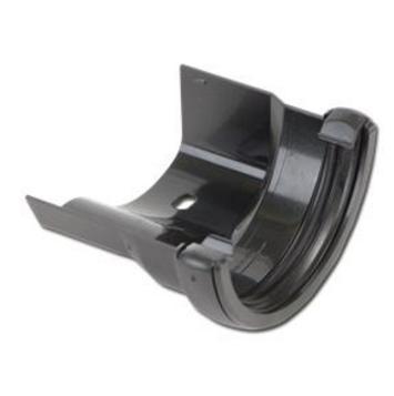 Cast Iron Effect Gutter | Half-Round Gutter Adaptor | PVC Gutter | Faster Plastics