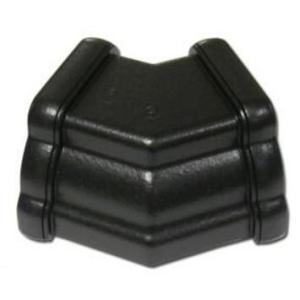 Cast Iron Effect Gutter | Ogee Gutter Angle Ext 135 Deg | PVC Gutter | Faster Plastics