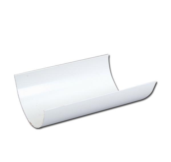 Half-Round Gutter 4m | PVC Gutter | Faster Plastics