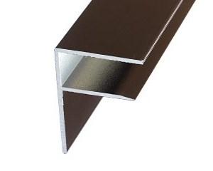 Aluminium F-Section | Timber Glazing Bars | Faster Plastics