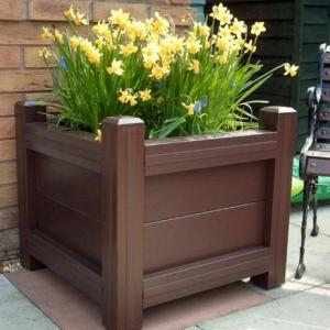 PVC Compost Bin and Planters
