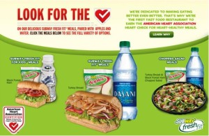 Eating Healthy Meals At Subway