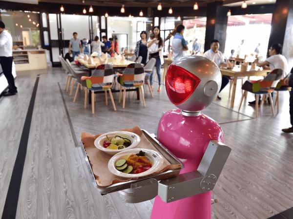 Robotic Fast Food Chefs