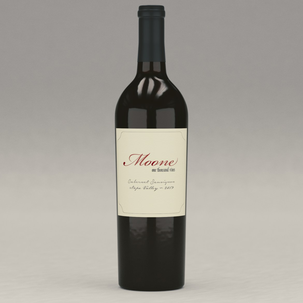Moone: One Thousand Vines Cabernet
