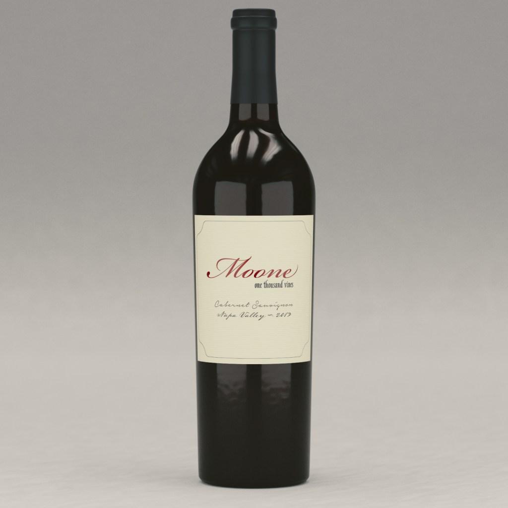 Moone: One Thousand Vines Cabernet