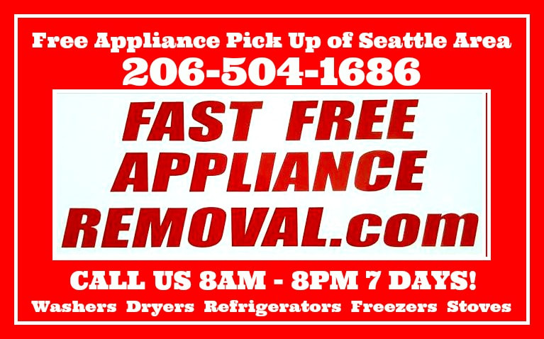fast free appliance removal com