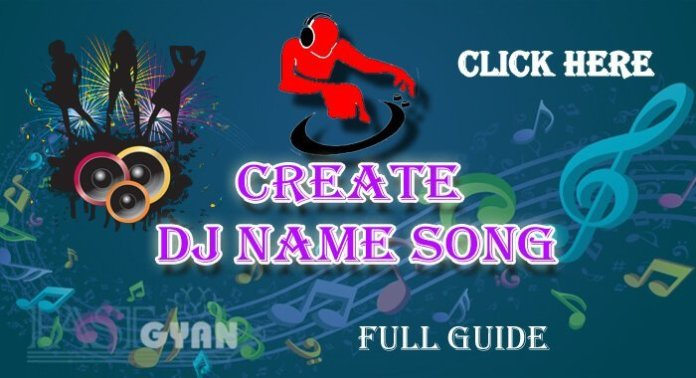 Create DJ Name Song