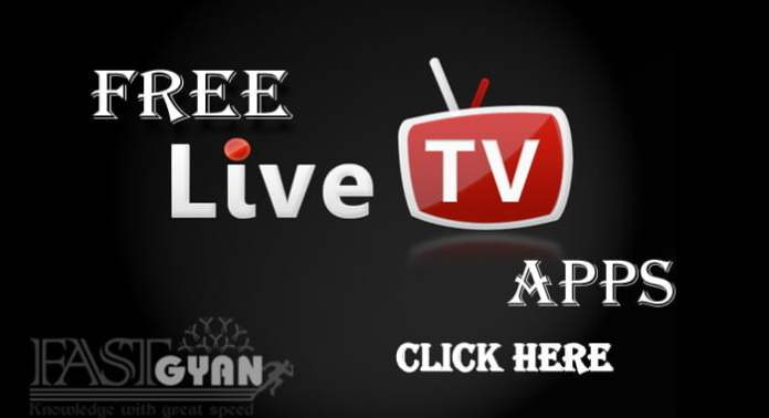 free live tv apps