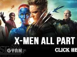 Action Hollywood Movies X Men All Part Hindi Me