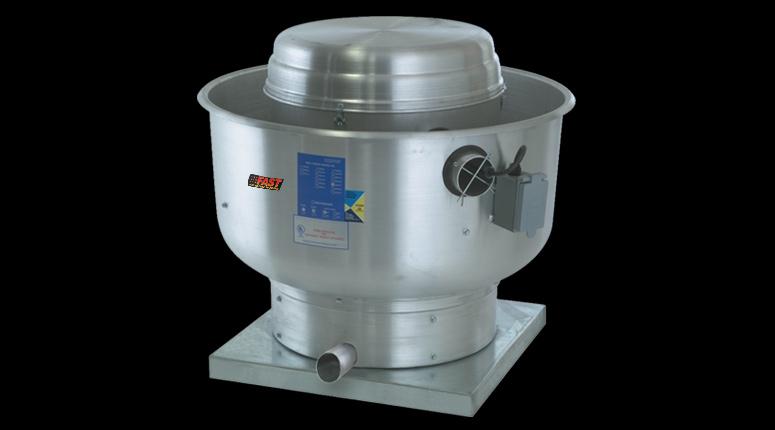 exhaust fans centrifugal up blast