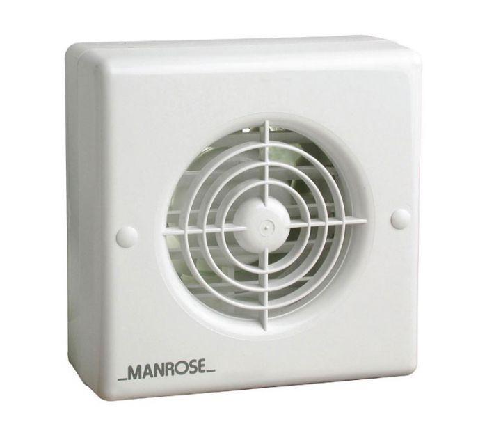 manrose xf100auto 4 auto shutter axial bathroom extractor fan wall ceiling models