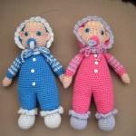 Tvillingerne Jeppe og Tilde (færdig produkt)