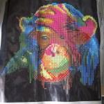 Diamond Painting Orangutan