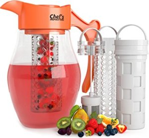 3-core infusion water pitcher