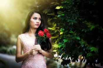 Deep Rose Lips