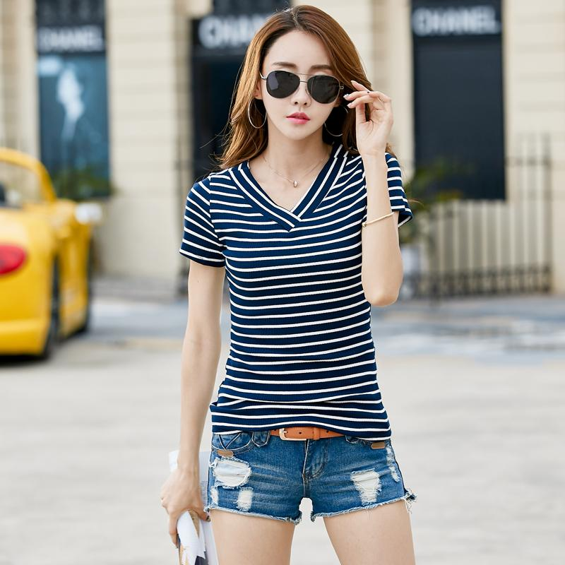 Shorts And Striped Top