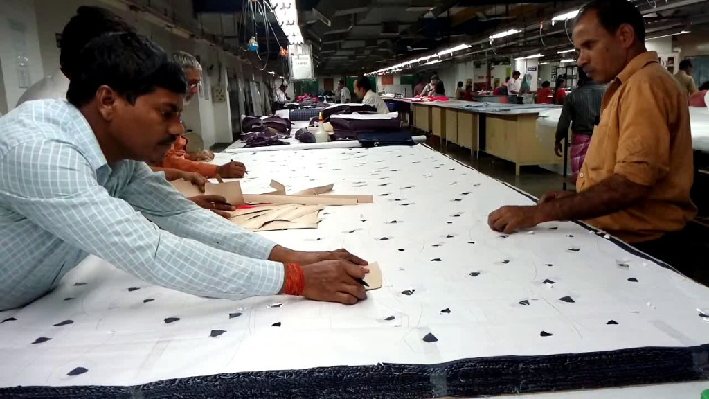 Textile Cutting Process