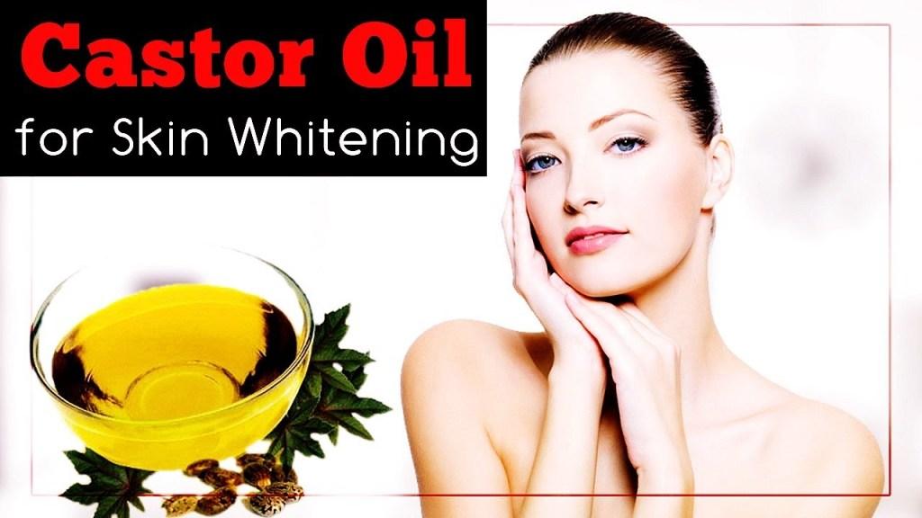 WAYS TO USE CASTOR OIL FOR SKIN WHITENING