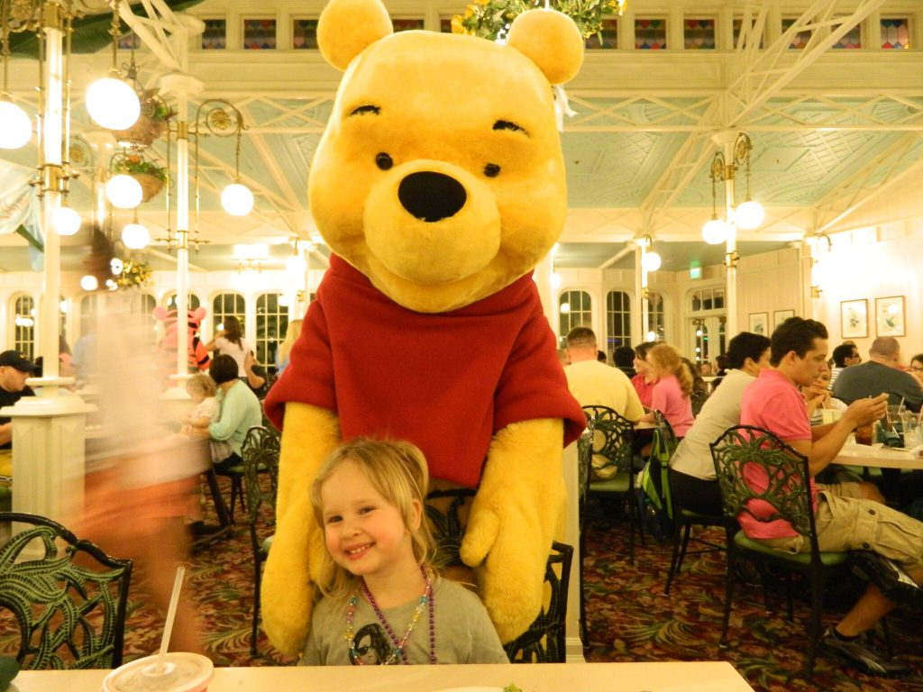 The Crystal Palace with Winnie the Pooh and Friends