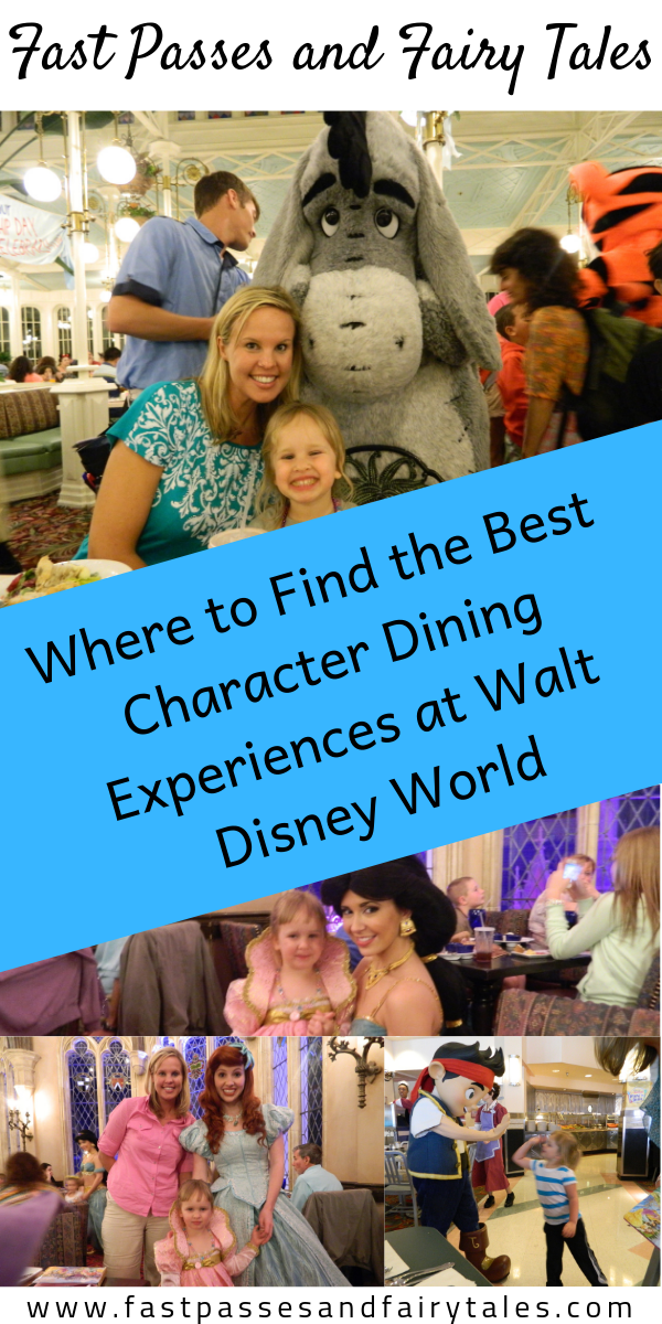 Where to Find the Best Character Dining Experiences at Walt Disney World