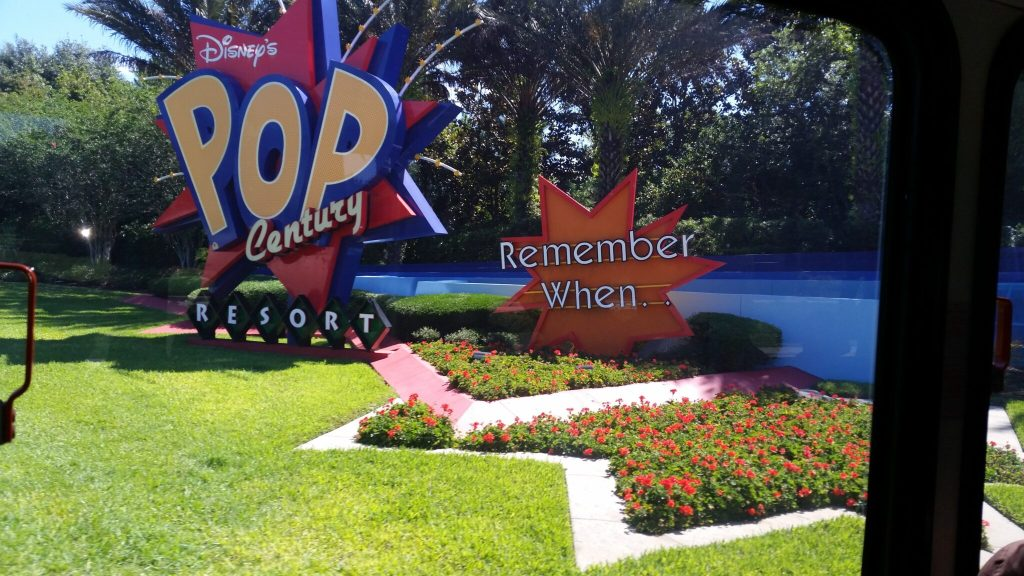 Using the Disney Bus System to get around Walt Disney World