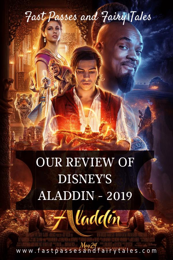 Review of Disney's Aladdin - 2019