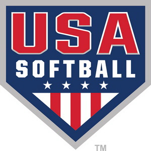 Click logo to visit the official website for USA Softball