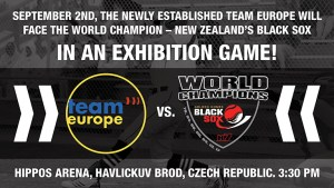 Team Europe tops New Zealand Black Sox in Exhibition game, 6-5