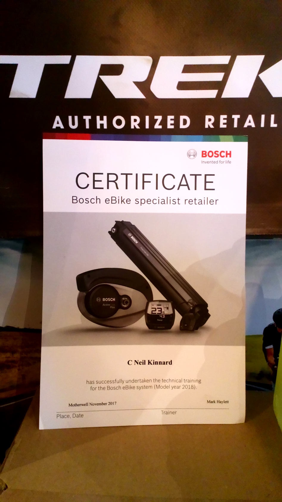 Bosch Certified Service Centre Fastrider Cycles