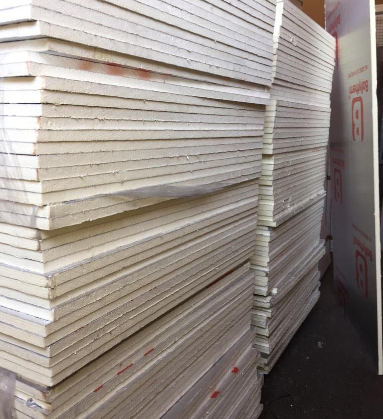 PIR Insulation Boards (Foam Boards)