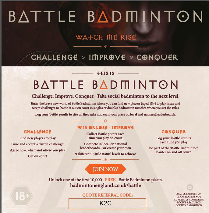 Battle Badminton