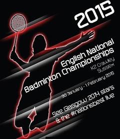 English National Badminton Championships 2015 Crawley