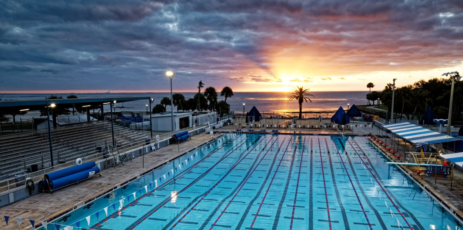 North Shore Pool Sunrise